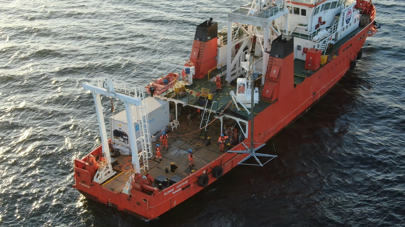 GloMar Vantage (DP1) with Geotechnical spread available in Baltic Sea